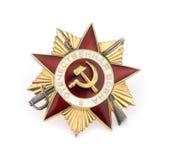 medaljmilitärryss Arkivfoton
