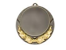 medaljsilver Royaltyfri Foto