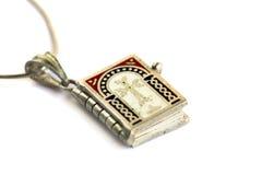 Medallón de la Sagrada Biblia Imagenes de archivo