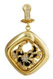 Medallón del diamante Fotos de archivo