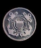 Medallón del guardacostas Imágenes de archivo libres de regalías