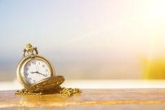 Medallón del reloj Fotos de archivo
