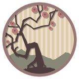 Medallón japonés 1 Fotos de archivo libres de regalías