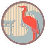 Medallón japonés 6 Imágenes de archivo libres de regalías