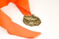Medalla académica Imágenes de archivo libres de regalías