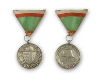 Medalla antigua Fotos de archivo libres de regalías