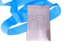 Medalla 2009 de la participación de los campeonatos del mundo del atletismo de Berlín Kouvola, Finlandia 06 09 2016 Imagen de archivo libre de regalías