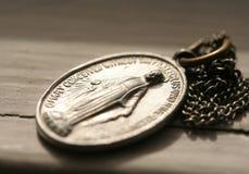Medalla de Maria imágenes de archivo libres de regalías