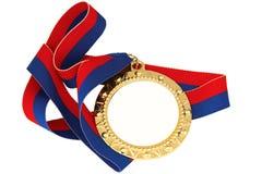 Medalla de oro Foto de archivo libre de regalías