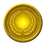 Medalla de oro Foto de archivo