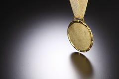 Medalla de oro imagen de archivo
