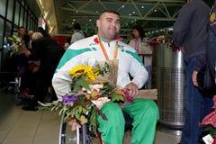 Medalla de oro de Ruzhdi Ruzhdi Fotos de archivo