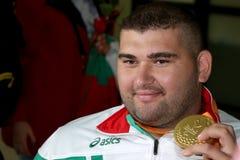 Medalla de oro de Ruzhdi Ruzhdi Imagenes de archivo