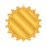 Medalla de oro para el ganador Imagen de archivo libre de regalías