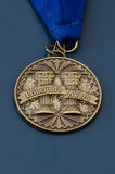 Medalla del premio del principal Fotografía de archivo