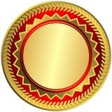 Medalla grande del oro (vector) stock de ilustración