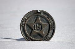 Medalla militar Imagenes de archivo