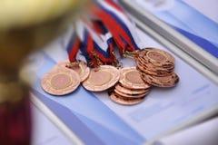 Medalla para el tercer lugar Fotografía de archivo libre de regalías
