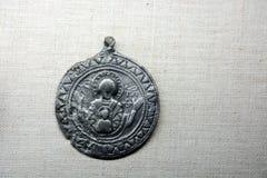 Medalla rusa antigua Fotografía de archivo libre de regalías