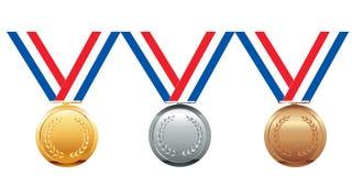 Medallas Fotos de archivo libres de regalías