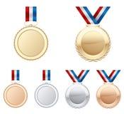 medallas Imagen de archivo libre de regalías