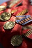 Medallas Foto de archivo