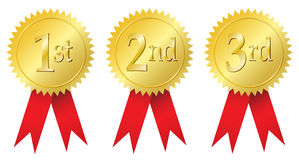 Primer lugar imagen de archivo imagen 33340451 for 1st prize ribbon template