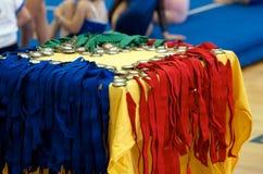 Medallas de los deportes Fotos de archivo