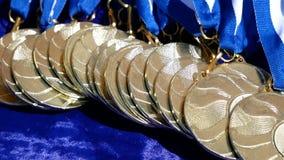 Medallas de oro de la exposición canina en la tabla metrajes