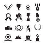 Medallas y premio del trofeo Imagenes de archivo
