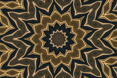 Medallion Abstract. A digitally generated image in a colorful medallion-like pattern Stock Images