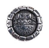 Medallion as a symbol of Maya Stock Photo