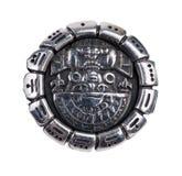 Medallion as a symbol of Maya Stock Photo