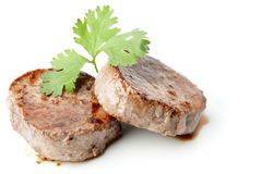 Medallion of fillet Mignon Stock Photography