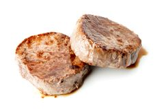 Medallion of fillet Mignon Stock Photo