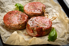 Medallions of Beef Fillet on Stock Photos