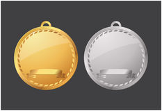 Medallions Stock Photography