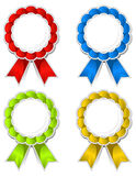 medallions ribbon Стоковое Изображение RF
