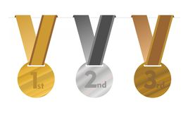 The medallions Stock Images