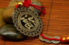 Medallón asiático Fotografía de archivo libre de regalías