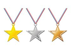 Medals_03 Royalty Free Stock Image