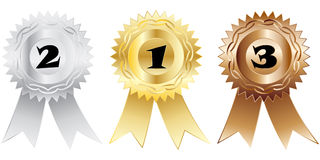 Medals royalty free illustration