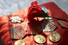 Medals Royalty Free Stock Photos