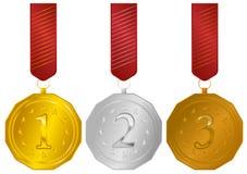 Medals royalty free illustration
