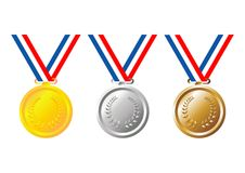 Medals Stock Photography