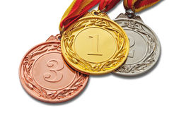 Medals Royalty Free Stock Images