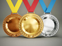 Free Medals Stock Image - 37657191