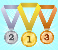 Medals-4 Royalty Free Stock Image