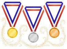 Medals-6 Immagini Stock