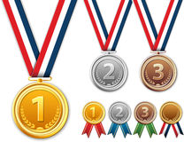 Medals, award. Stock Image